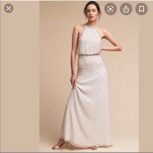 Bhldn rian dress size 6 euc